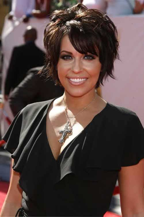 Nice Short Dark Hair Cut Ideas