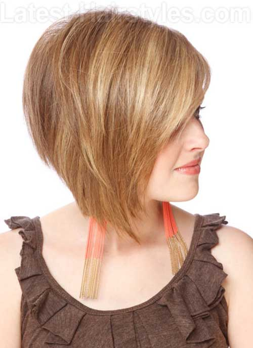 Nice Short Layered Bob Haircut