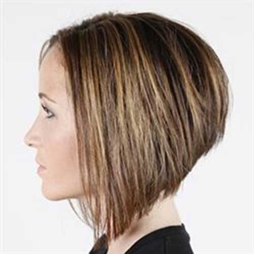 Nice Short Stacked Bob Haircuts
