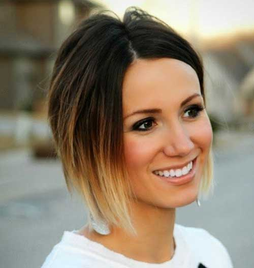 Ombre Bob Haircuts for Dark Hair