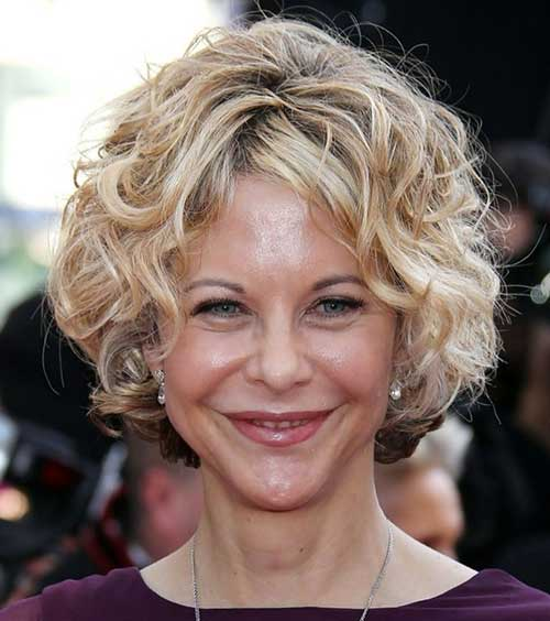 Pictures of Short Blonde Curly Hair Ideas Over 50