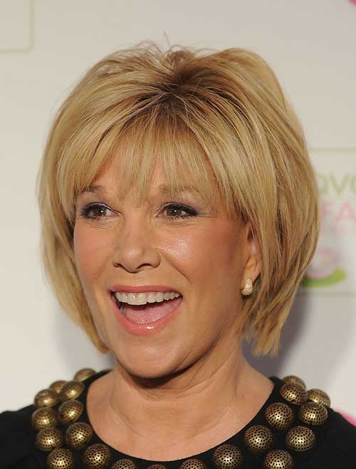 Pictures of Short Blonde Layered Hair Type Over 50