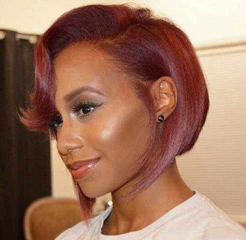 Red Bob Hair For Black Women