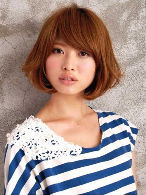 Short Brown Hairstyles for Japenese Girls
