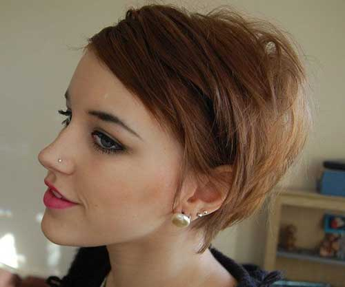 Short Casual Haircuts Ideas Brunette