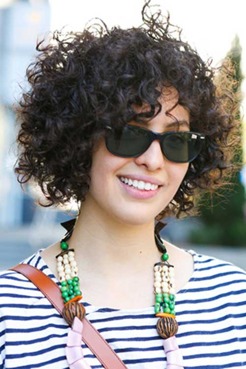 Phenomenal Curly Short Hairstyles 2014 2015 Short Hairstyles 2016 2017 Hairstyle Inspiration Daily Dogsangcom