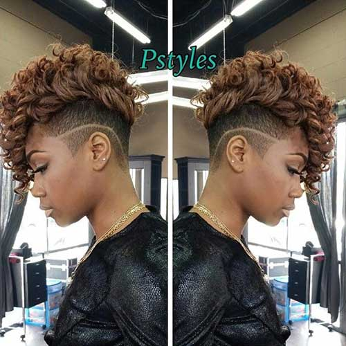 Short Curly Weaves