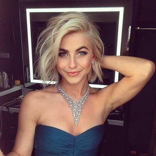 Short Cute Cuts for Side Swept Hairstyles