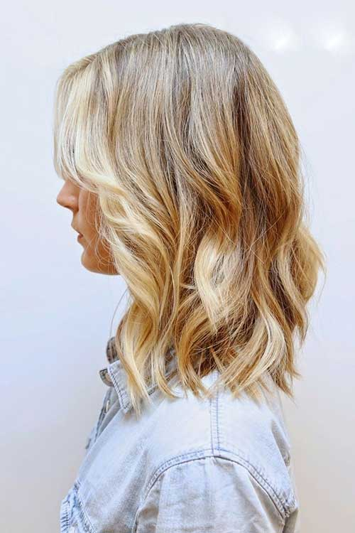 Short Blonde Hair Shoulder Length