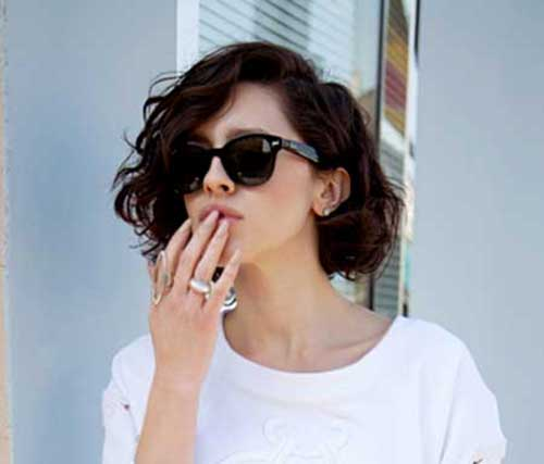 Fine 15 Best Short Haircuts For Brunettes Short Hairstyles 2016 Hairstyles For Women Draintrainus