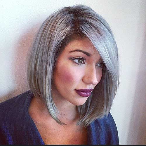 14 Short Hairstyles For Gray Hair  Short Hairstyles 2016  2017  Most Popul