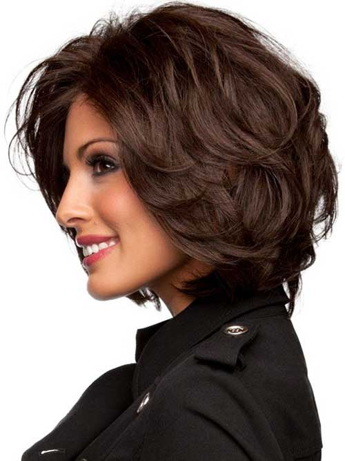 Short Thick Haircuts for Brunettes