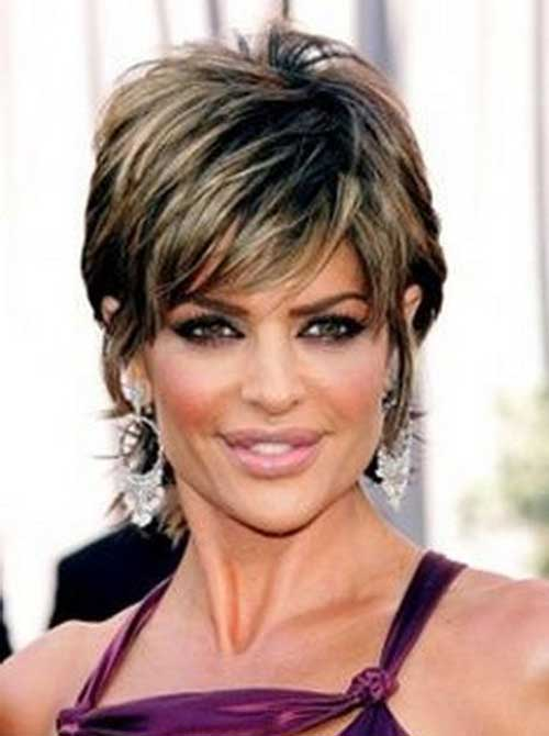Best Short Highlighted Hair Women Over 40