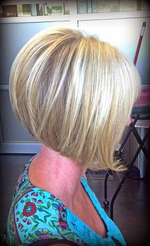 Short Inverted Bob Stacked Cut Ideas