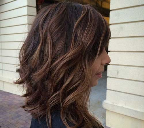 Wavy Short Mid Length Haircuts