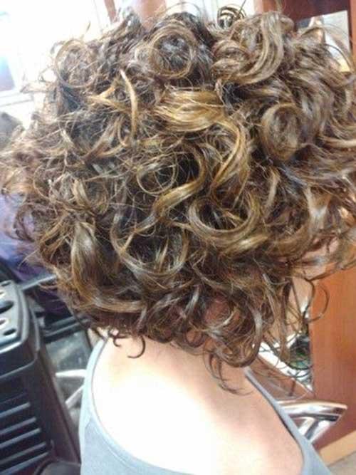 Short Naturally Thick Curly Haircuts