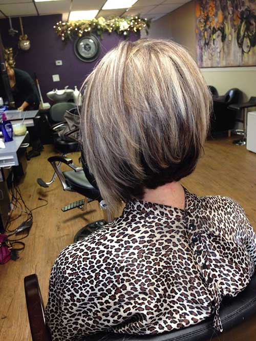 Short Nice Hair Stacked Cut Ideas