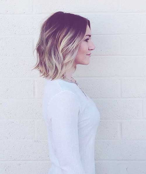 Short Ombre Bob Hairstyles for Girls