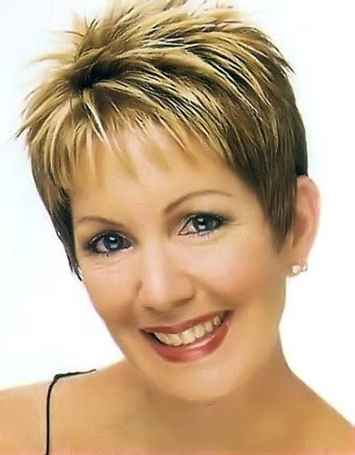 Short Pixie Haircuts Women Over 40
