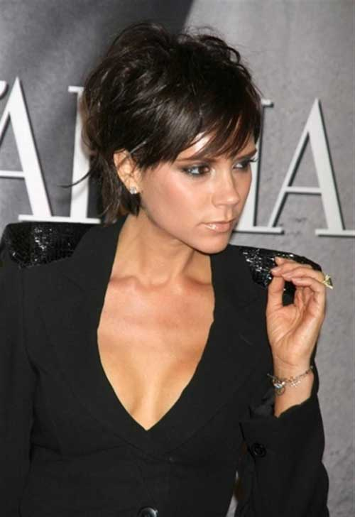 Short Pixie Haircuts for Brunettes