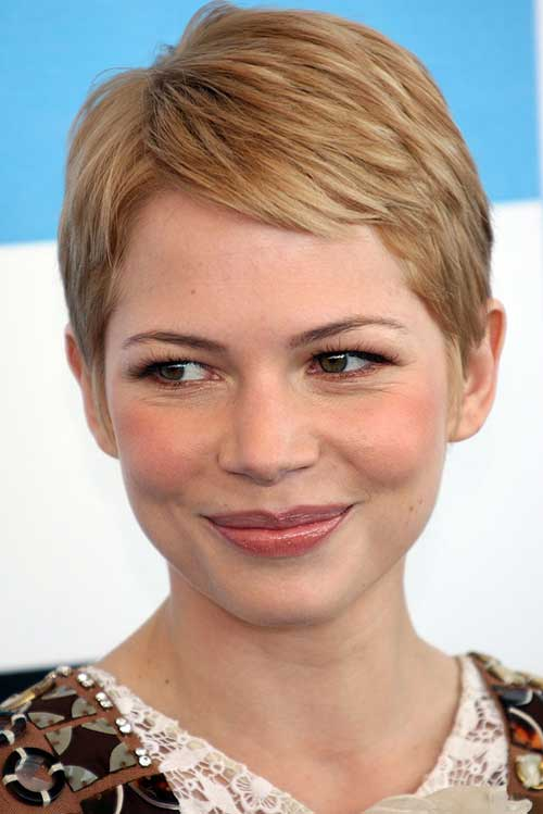 Short Pixie Haircuts Michelle Williams