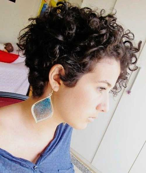 Short Pixie Naturally Hair Styles