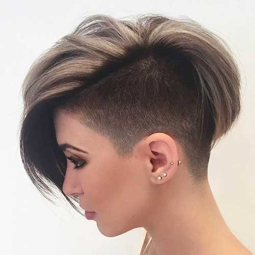 Best Short Shaved Hair