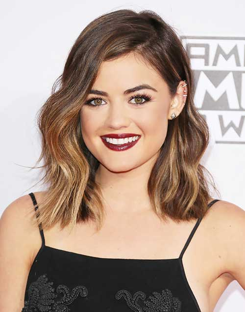 Short Shoulder Length Bob Hair Cut