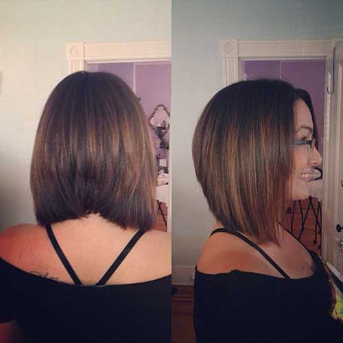 Short Shoulder Length Line Haircuts