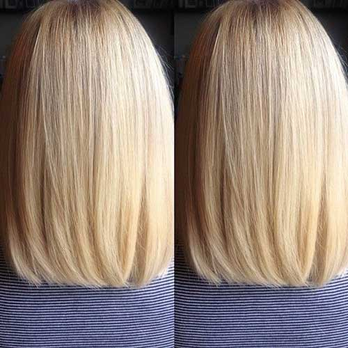 Short Shoulder Length Long Bob Haircuts