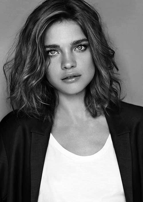Short Shoulder Length Wavy Hairstyles