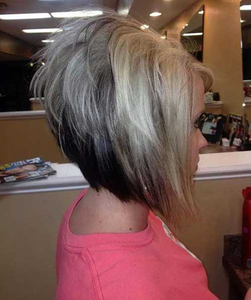 Awesome Stacked Haircuts Pictures Best Hairstyles 2017 Short Hairstyles Gunalazisus