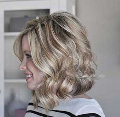 Short to Mid Length Blondie Haircuts