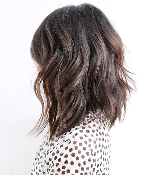 Short to Mid Length Layered Haircuts