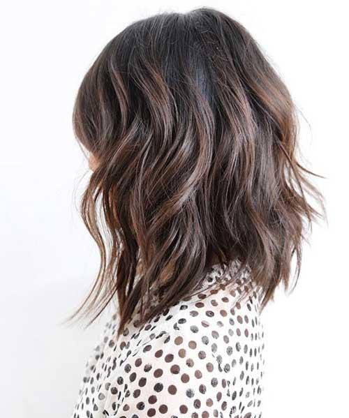 Short to Mid Length Layered Haircuts