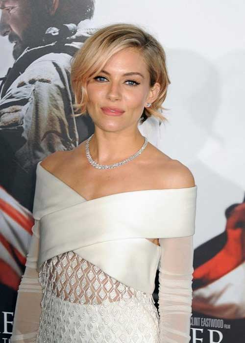 Sienna Miller Best Short Hair