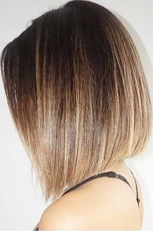 Straight Bob Hairs Ombre