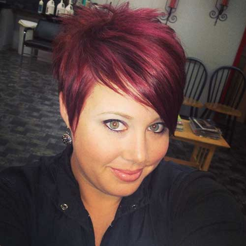 Super Cute Short Red Haircuts 2014