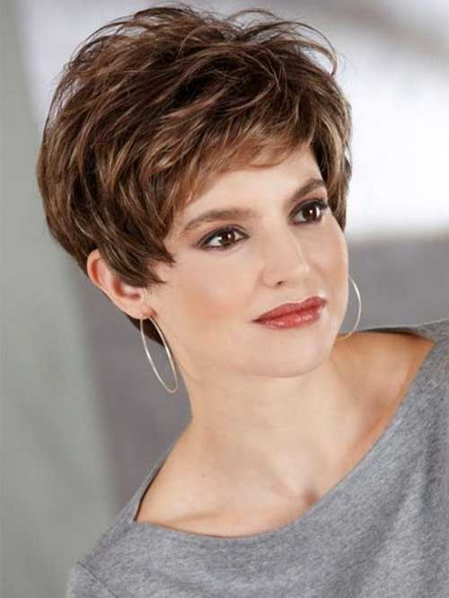Thick Pixie Haircuts for Short Hair Ideas