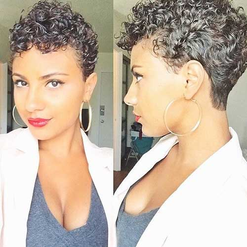 Very Short Curly Hair Cuts