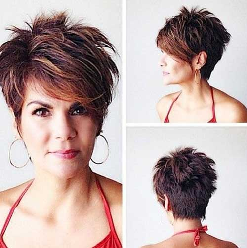 Very Short Female Spiky Haircuts