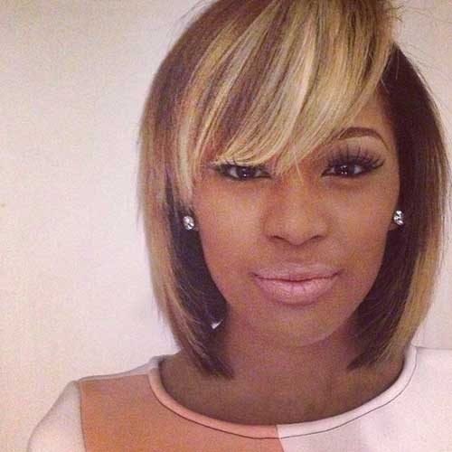 Weave Bobs with Bangs