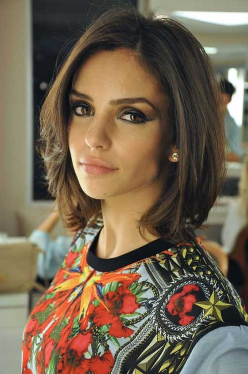 Awesome 20 Brunette Bob Haircuts Short Hairstyles 2016 2017 Most Hairstyles For Women Draintrainus