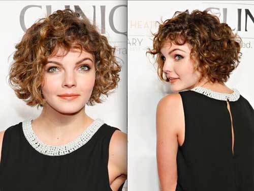 Short Haircuts for Women with Round Faces-12