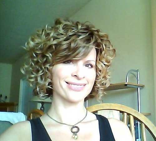 Curly Short Hair-13