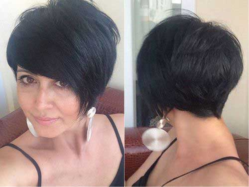 Chic Long Pixie Haircut Pictures Short Hairstyles 2018