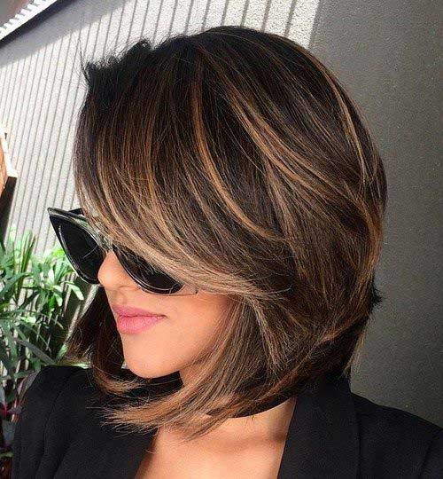 20 Brunette Bob Haircuts Short Hairstyles 2018 2019 Most