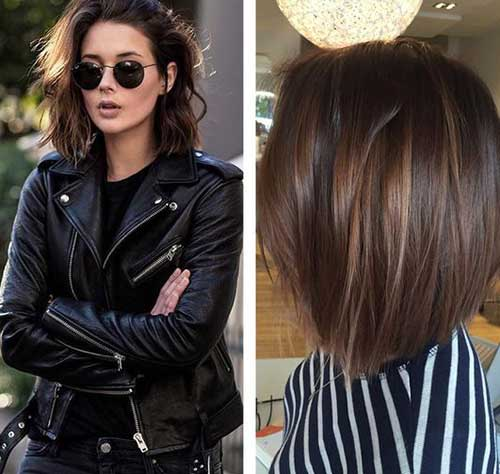 20 Brunette Bob Haircuts Short Hairstyles 2017 2018