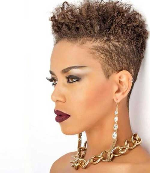 20 Pixie Cut For Black Women Short Hairstyles 2017