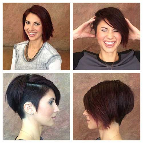 Trendy Short Hairstyles 2016-20